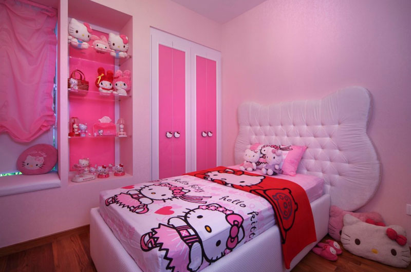 Cambia tu habitaci n con la decoracion hello kitty noticias for Decoracion de dormitorios para adultos