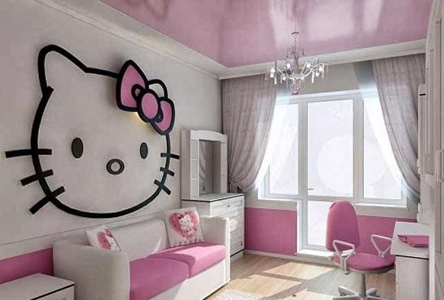 Vinilos Hello Kitty Pared.Cambia Tu Habitacion Con La Decoracion Hello Kitty Noticias